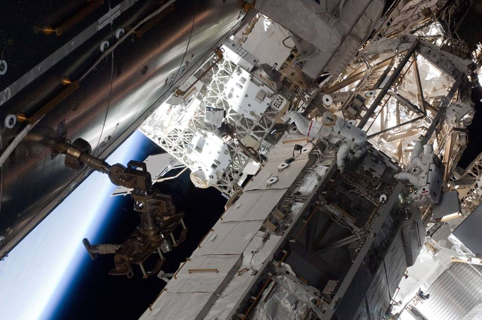 International Space Station ISS photo credit NASA posted on The SpaceFlight Group Insider