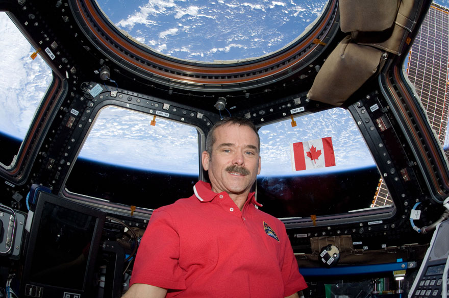Hadfield was the first Canadian astronaut to command the International Space Station. Photo Credit: NASA