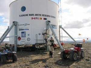 The volunteers tapped will spend up to one year at The Mars Society's Devon Island research station. Photo Credit: The Mars Society.