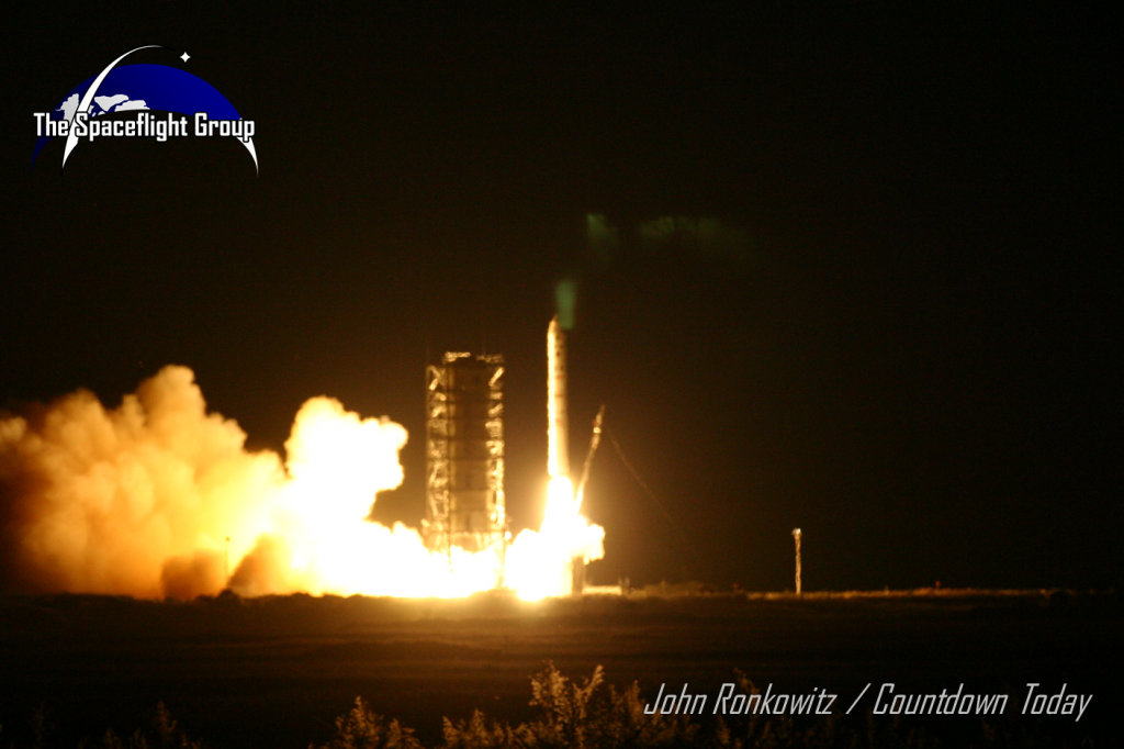 LADEE launched atop a Orbital Sciences Corporation Minotaur V rocket on Sept. 6 from NASA's Wallops Flight Facility in Virginia. Photo Credit: John Ronkowitz / Countdown Today