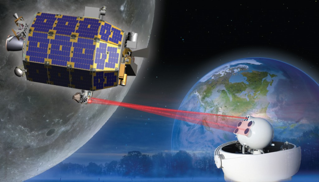 LLCD is a system meant to prove out methods of data transfer using lasers. Image Credit: NASA / GSFC