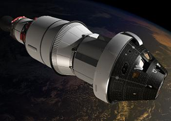 The EFT-1 mission will see Orion conduct two orbits before returning to Earth at some 20,000 miles per hour. Image Credit: NASA