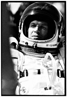Baumgartner looking pensive, yet confident before his history-making voyage. Photo Credit: Felix Baumgartner