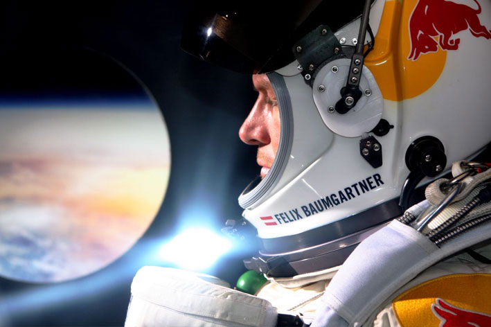 Baumgartner detailed the elements of his journey that filled him with joy - and with dread. Photo Credit: Felix Baumgartner