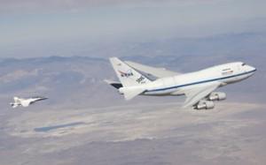 NASA's SOFIA flying observatory. Photo Credit: NASA