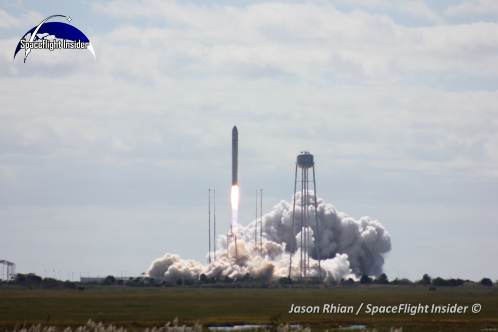 With the successful launch of the first Cygnus spacecraft and subsequent launch to the International Space Station, the COTS program has come to a close. Both companies are now working under NASA's Commercial Resupply Services contract. Photo Credit: Jason Rhian / SpaceFlight Insider