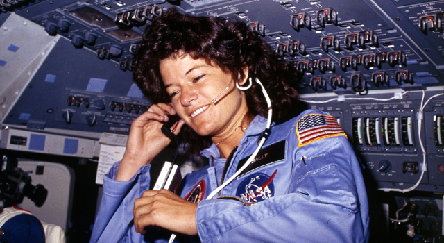 "It was revealed the Brig. Gen. Kutyna's astronaut ""source"" about some of the shuttles' woes - was none other than fellow Rogers Commission member - Sally Ride. Photo Credit: NASA"