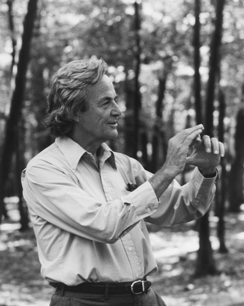 Richard Feynman's ordeal in trying to get the root of the Challenger disaster is the key aspect of The Science Channel's recent program detailing the Roger's Commission on the accident. Photo Credit: Tamiko Thiel