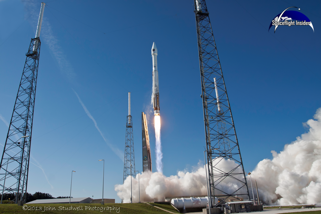 As with all Florida launches, the weather is the chief issue facing the planned launch of MAVEN. Liftoff is currently slated to take place at 1:28 p.m. EST. Photo Credit: Jason Rhian / SpaceFlight Insider