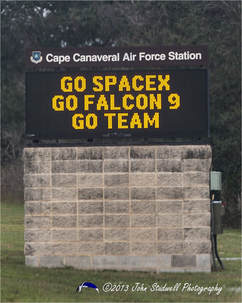 The United States Air Force 45th Space Wing aided SpaceX is supporting Monday's launch. Photo Credit: John Studwell / SpaceFlight Insider